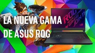 Nuevos ASUS ROG: más potencia y hasta 240Hz para TODO tipo de usuarios