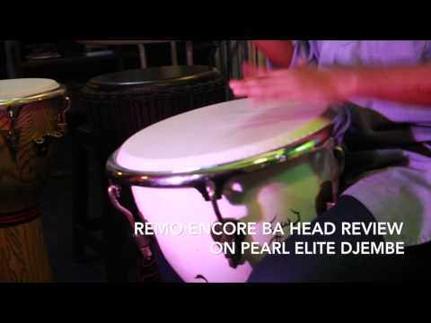 Drumhead Review : REMO Encore Ba Head on Pearl Elite Wood Djembe (HD) | Drum Simfoni