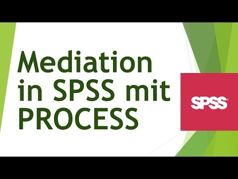 Mediation mit PROCESS in SPSS rechnen und interpretieren - Daten analysieren in SPSS (30)
