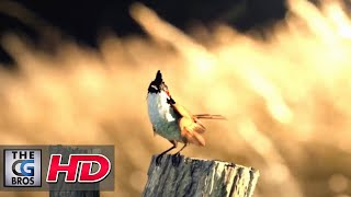 "CGI & VFX Breakdowns: ""Bird Fly Progression Shot"" - by Tausif Ansari   TheCGBros"