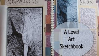 A Level Art Sketchbook; A Grade