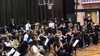 """Illiana Combined Bands """"Away in a Manger"""" - Tom Wallace, arr."""