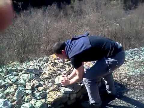 La pesca su Don nella primavera linizio