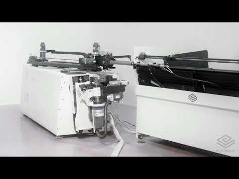 SMART: Dobladora completamente eléctrica derecha e izquierda en proceso con carga y descarga integrada con VGP3D