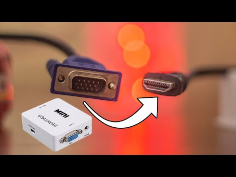 From VGA to HDMI Converter/Adapter
