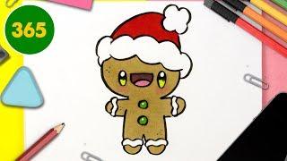 Renne Kawaii Dessin De Noel