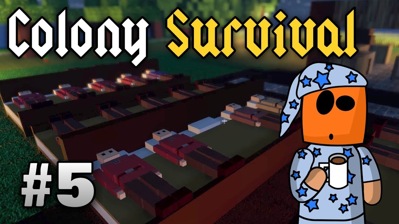 Colony Survival ep5 | Bed Housing