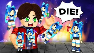Playing Roblox with my EVIL TWINS!
