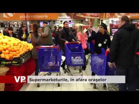 Supermarketurile, în afara orașelor