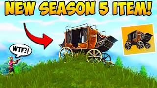*NEW* SEASON 5 VEHICLE! - Fortnite Funny Fails and WTF Moments! #251 (Daily Moments)