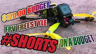 How To Build a PRO FPV Freestyle Drone for ONLY $120 #shorts