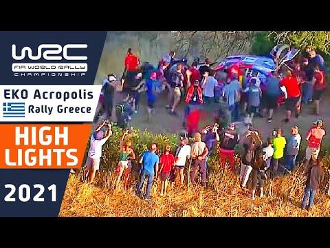 WRC 2021 ラリー・ギリシャ Day1ハイライト動画