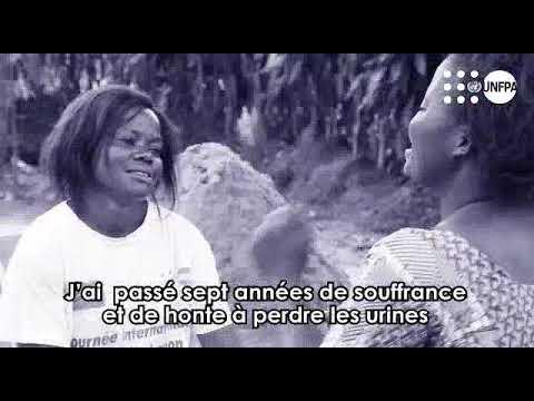 Esther Manzombi, guérie de la fistule obstétricale raconte son histoire