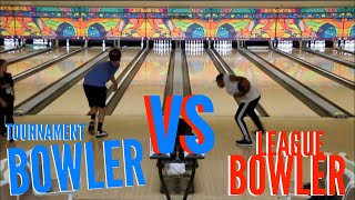 Tournament Bowler VS League Bowler