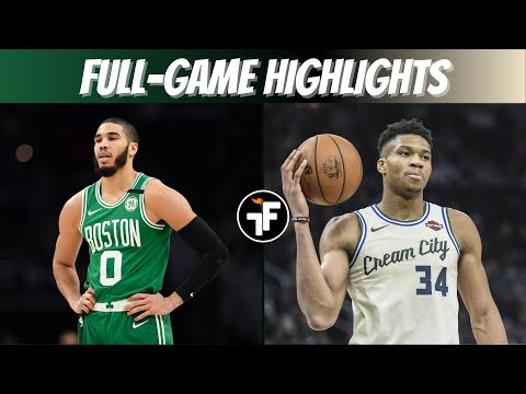 GIANNIS DROPS 36 POINTS | CELTICS vs BUCKS NBA Restart
