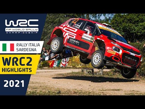 WRC2 2021 第5戦ラリー・イタリア Day1ハイライト動画