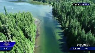 Exploring upper Priest Lake by air