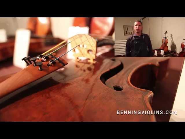 Benning Violins Viola Exhibition - 2014 Primrose Viola Competition
