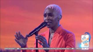"""Video thumbnail of """"Cynthia Erivo sings """"Stand Up"""" Live Concert Performance HD 1080p"""""""