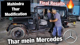 Mahindra Thar Modification Final Results