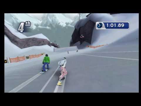 Triple Crown Championship Snowboarding (Wii) Snowboard Cross Gameplay
