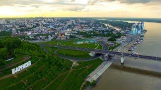 Смотреть онлайн Аэросъемка Барнаула в качестве 4К