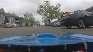FPV RC car brushless motor testing
