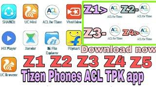 Download tizen tpk all apps// problem solved Tizen Phones Z1, Z2, Z3