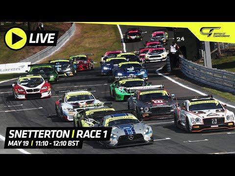 Race 1 - Snetterton - British GT 2019 - LIVE
