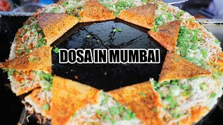 Amazing Dosas in #Mumbai | Noodles Dosa | Ananad Dosa Stall | Amazing Indian Food