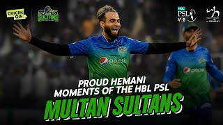Multan Sultans' Journey - Proud Hemani Moments of the HBL PSL V