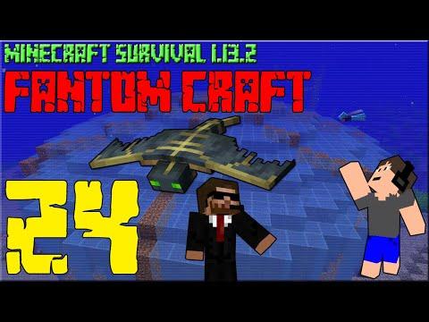 PODVODNÍ AQUA ARÉNA! Minecraft survival 1.13.2 - FANTOM CRAFT #24 /wCukeMan #aqua #fantomcraft