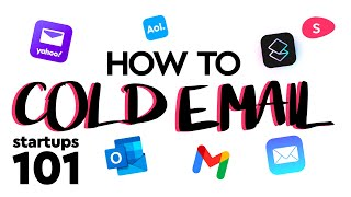How to cold email investors and leads