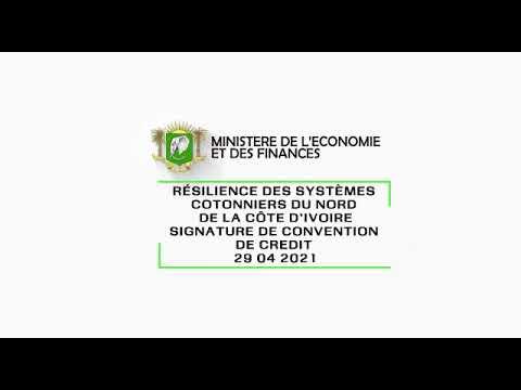 Systèmes coton : L'AFD apporte un financement de 26,2 milliards de FCFA à la Côte d'Ivoire