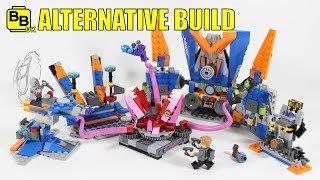 LEGO MARVEL GOTG VOL.2 76081 ALTERNATIVE BUILD GALACTIC HQ