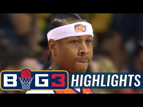 3's Company vs Ball Hogs | BIG3 HIGHLIGHTS
