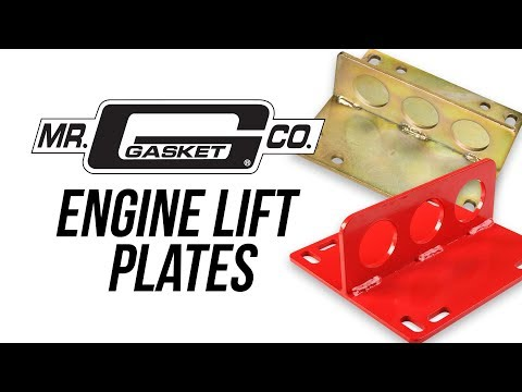 Mr. Gasket Engine Lift Plates