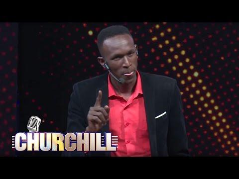 Comedian YY on Churchill Show