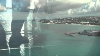 preview picture of video 'Quantum of the Seas: North Star - Bridgetown, Barbados 12/7/14'