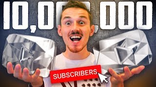 How I hit 10 Million Subscribers.. TWICE!
