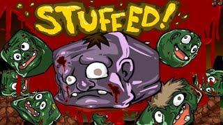 Мультик Игра Голодный зомби # Dead Hungry#логическая игра для детей про зомби