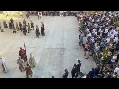 Palio di Legnano: Traslazione della Croce da San Domenico alla Basilica