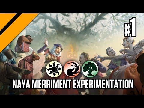 Bo3 Constructed - Naya Merriment Experimentation P1