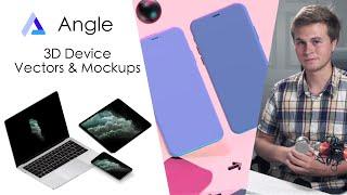 Make Beautiful Device Mockups w/ Angle! (Sketch | Figma | Adobe XD)
