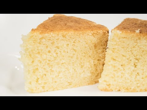 Sponge Cake Recipe   Eggless Pressure Cooker Basic Sponge Cake   Eggless Baking Without Oven