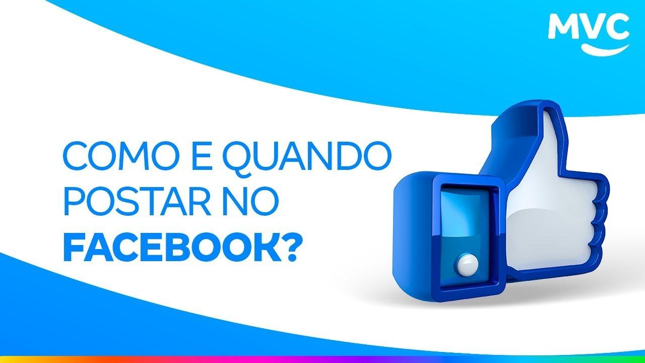 Dicas práticas de como fazer suas postagens no Facebook.