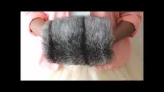 How To Make Your Own Faux Fur Hand Warmer