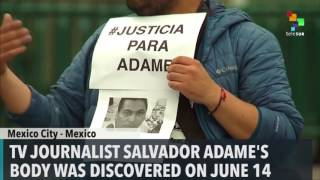 Mexican Journalists Protest 9th Murdered Colleague