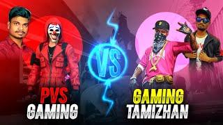 😱Pvs Gaming Vs Gaming Tamizhan💥 | 1 Vs 1 | Clash Squad 2.0 Best Match | Free Fire Tricks&tips Tamil