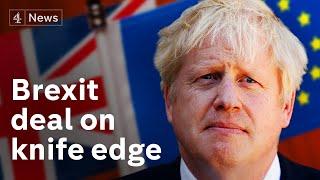 Brexit deal hangs in balance ahead of key EU summit